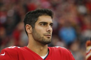 Betting on San Francisco 49ers Garoppolo
