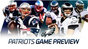 Eagles Patriots Betting Odds NFL Preseason Week 2