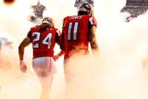 Julio Jones Devonta Freeman Atlanta Falcons