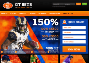 GT BETS NFL Betting Website