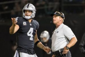 Jon Gruden Oakland Raiders Betting